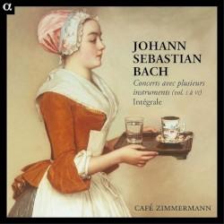 BACH - Concerto pour trois clavecins en ré mineur, BWV 1063: I.